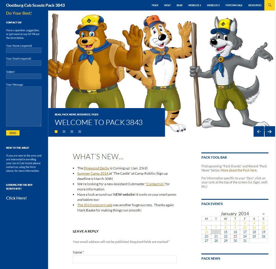 Oostburg Cub Scouts
