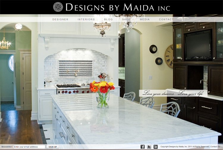 Designs by Maida Inc. (Magento Ecommerce)