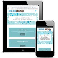 Mobile Responsive Web Design